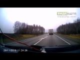 Авария на дороге в отбойниках 25.11.2015 | ДТП авария