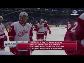 36 НХЛ Ред Уингс - Джетс 30/12/2015 (1-ая часть)