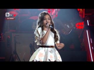 Крисия Тодорова - Моя страна,моя Болгария (Гласът на България)
