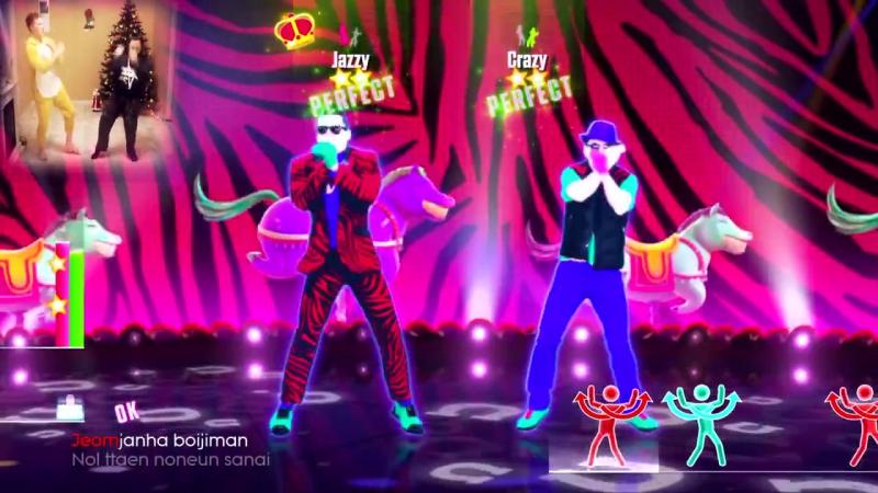 ♛ ВЕСЁЛЫЙ МЯСОТРЯС ♛ PSY - GANGNAM STYLE (JUST DANCE 2015) PS4