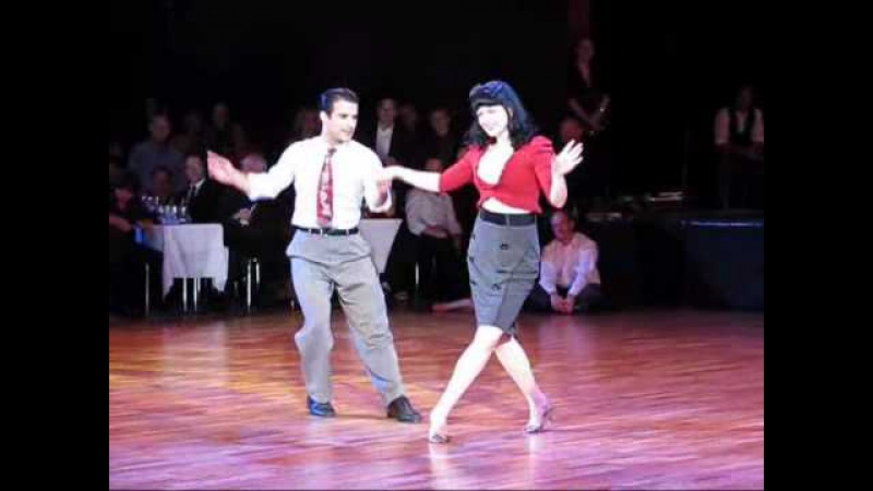 RTSF2010: Sharon Davis and Juan Villafane - Lindy Hop Showcase