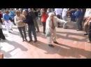 Дед танцует dub step