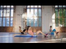Joanna Brzezińska blok 3 programu Fit Slide brzuchy i pośladki EXTREME Brzezińscy Trenują