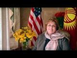 Ambassador Sheila Gwaltney Presents Credentials to President Atambaev