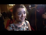 Interview: Maisie Williams at The 36th London Critics' Circle Film Awards