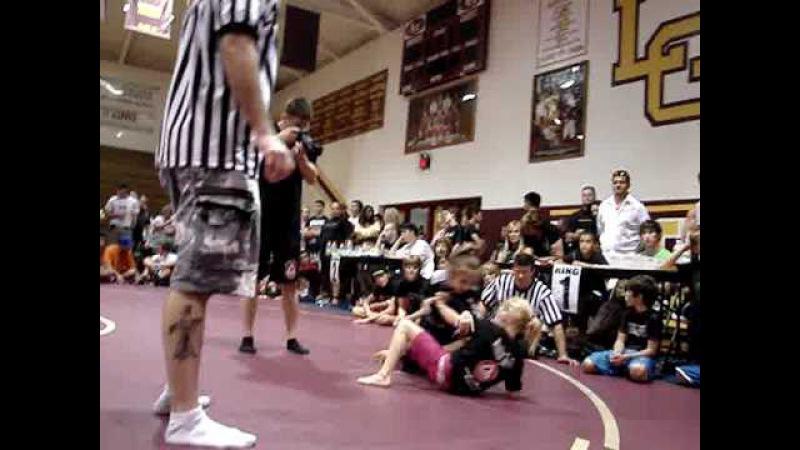 Kids jui jitsu 2009. Evolution, Tampa. 1st place no gi