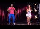 Cami y Broduey bailan ¨Juntos somos más¨ Momento Musical Violetta