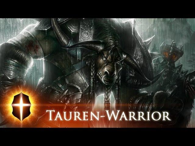 Tauren Warrior - Original SpeedPainting by TAMPLIER 2012