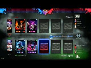 WCA EU Open Qualifier - The Alliance vs Team Empire (Game 3)