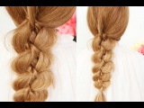 Коса из 4 прядей / Four Strand Braid with a Twist