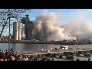 Top 10 best implosions explosion compilation ✔ demolition buil