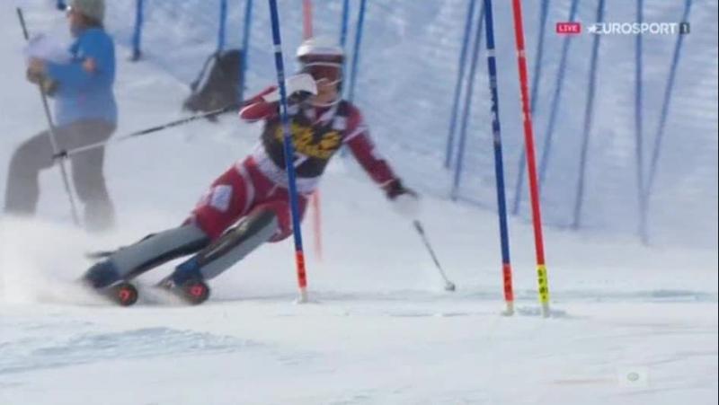FIS Alpine WC15-16г. SL 1-RUN, Aspen США , жен. 28,11,15г.