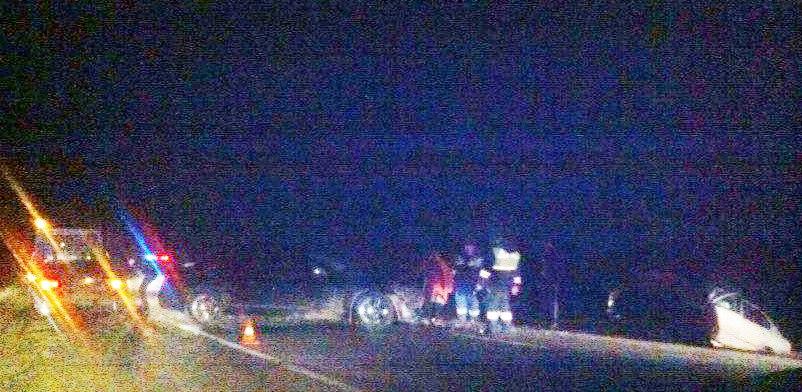 На объездной Таганрога при столкновении двух иномарок пострадали несколько человек