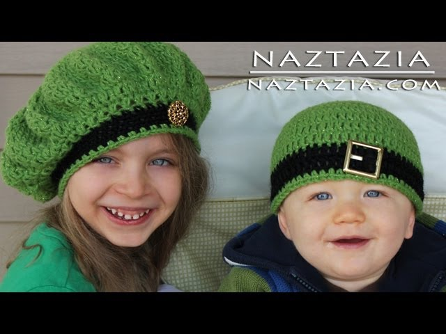 Learn How to Crochet - Easy Adjustable Magic Ring Loop Circle, Seamless Join Irish Beret Hats