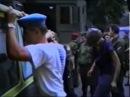Latviešu Jūrmalas zemessargi piesmej PSRS desantniekus 1992 gadā