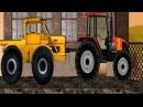 ТракторМания Трактор Тягач Красный Трактор мульти игра
