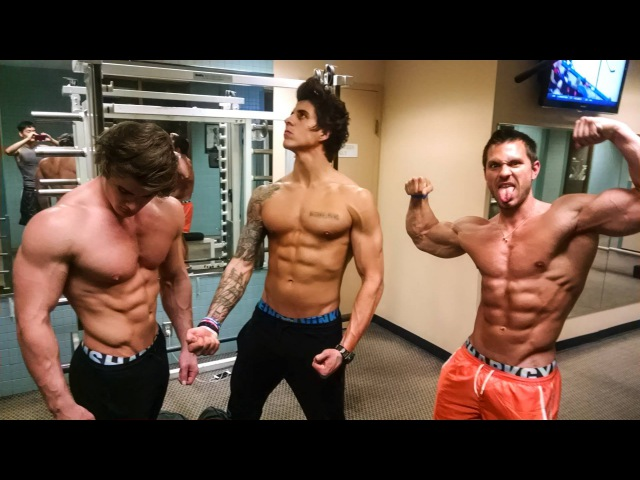 Hotel Gym Workout, ft. Alon Gabbay Jeff Seid