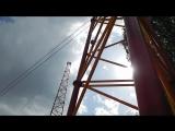 Полет на катапульте на 100 метров,Крестовский остров
