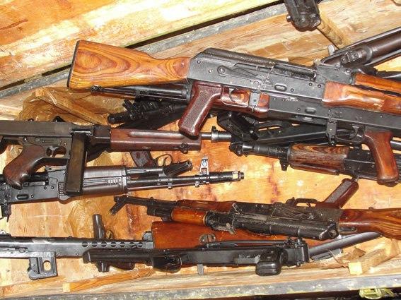 Цифра дня: за неделю полицейскими изъято 156 единиц оружия
