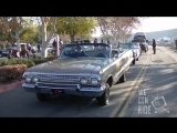 Lowriders hittin switches in the streets