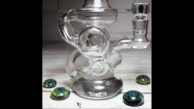 Recycler bubbler