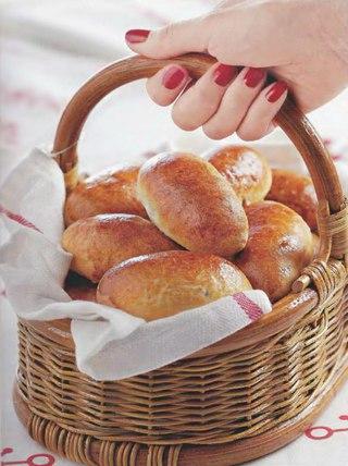 Фото рецепта: Пирожки с яблоками