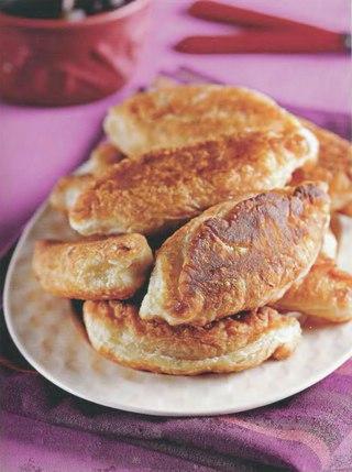 Фото рецепта: Жареные пирожки с груздями