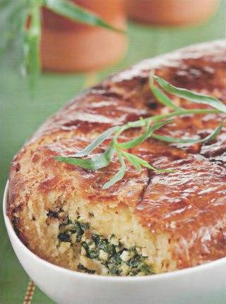 Фото рецепта: Пирог с тархуном