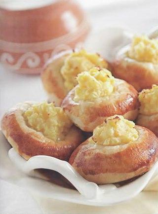 Фото рецепта: Уральские шаньги с картошкой
