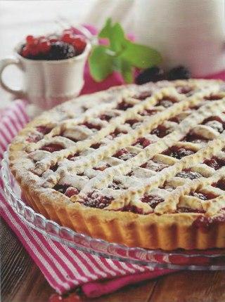 Фото рецепта: Тигранин пирог с ягодами