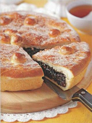 Фото рецепта: Пирог с черносливом