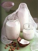 Фото рецепта: Миндальное и Кокосовое молоко
