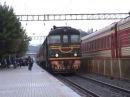 Тепловоз ТЭП60-0256 в ст. Каунас / TEP60-0256 at Kaunas station