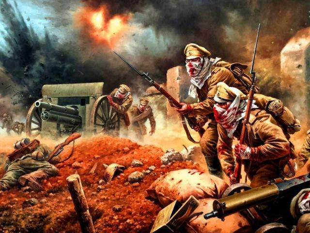 Непобеждённый гарнизон. К 100-летию обороны крепости Осовец и Атаки мертвецов.
