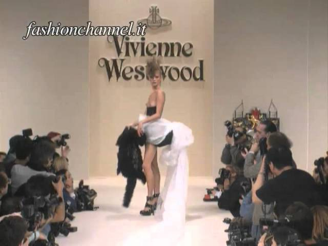 KATE MOSS young ..Hot Stuff!!....for VIVIENNE WESTWOOD 1994 by FashionChannel