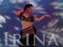 Irina Akulenko from Tribal Fusion Bellydance Workout DVD video World Dance New York