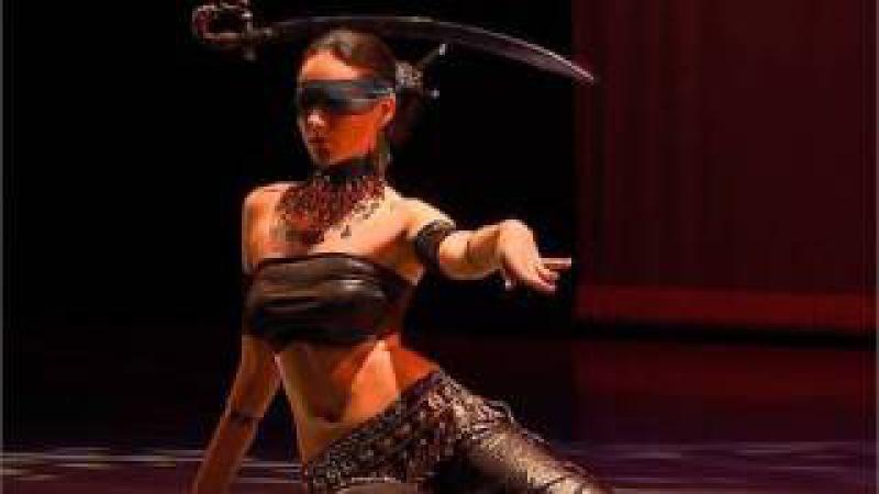 Irina Akulenko - Justice from Tarot - Fantasy Belly Dance DVD - WorldDanceNewYork.com