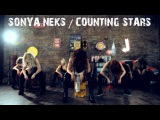 OneRepublic- Counting Stars - Cover by Gardiner Sisters Feat. Kuha'o Case - Choreography by Sonya Neks