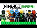 LEGO Ninjago 2015 Deepstone Robes w/ Master Wu KnockOff Minifigures Set 22 Review