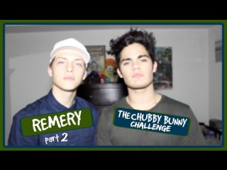 #Remery Part 2   The Chubby Bunny Challenge