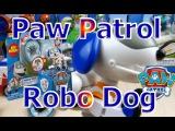 Щенячий патруль игрушка Робопес из серии Paw Patrol Action pack pup and badge