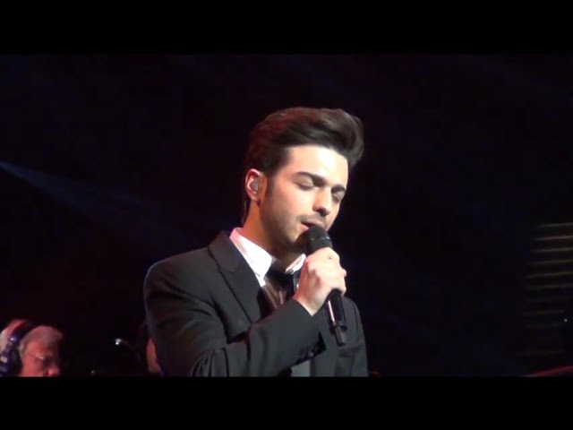 Il Volo - Anema e core (Gianlucas solo) Feb. 17, 2016 Barclays Center, Brooklyn, NY