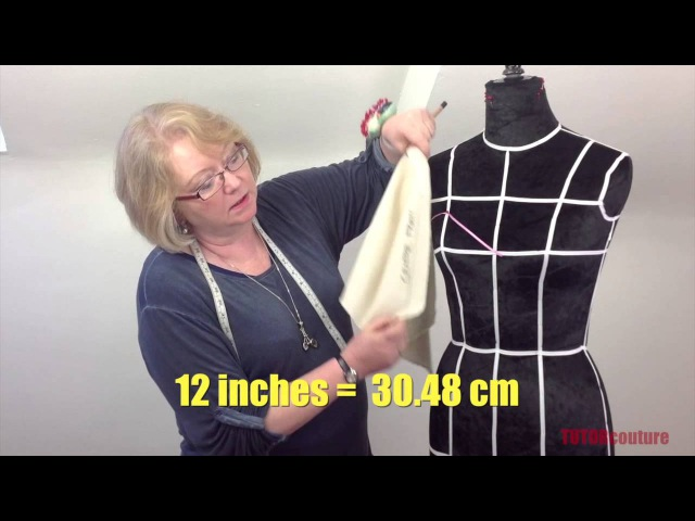 Draping a Strapless Bodice Lesson 2 Taster