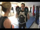Rory Macdonald teaches Reporter Lisa Redl to be an Ultimate Fighter for the Day