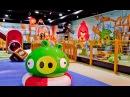 Испытания для настоящих ИгроБоев в Angry Birds Park