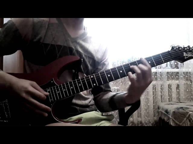 Кино - Следи за собой (electric guitar cover)
