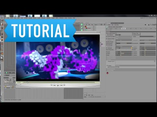 12. MotionGraphics with X-Particles