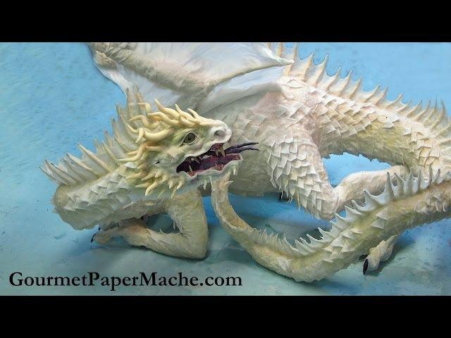 Paper Mache Equinox Dragon