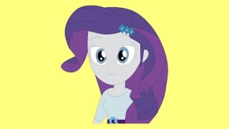Как нарисовать Рарити Девушки Эквестрии Игры Дружбы Мой маленький пони