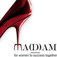 Логотип MA(D)AM - FOR WOMEN TO SUCCESS TOGETHER (Закрытая группа)